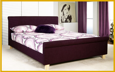 Suede and Fabric Bed Frames