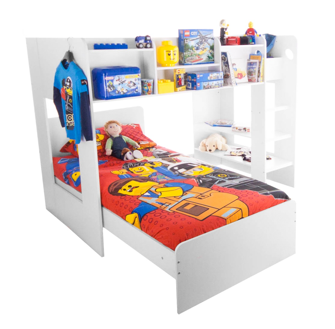 Flair Furnishings Wizard Junior L Shaped Bunk Bed