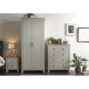 GFW Lancaster 3 Piece Bedroom Set-
