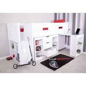 Flair Furnishings Charlie Mid Sleeper Set-
