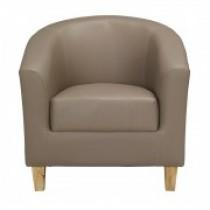 Tub Chair – Brown