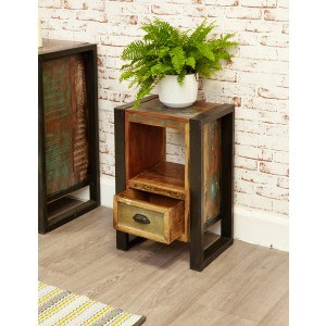 Baumhaus Urban Chic Bedside / Lamp Table