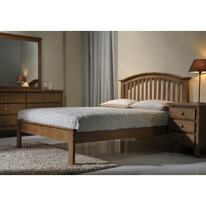 Flintshire Furniture Leeswood Wooden Bed Frame -