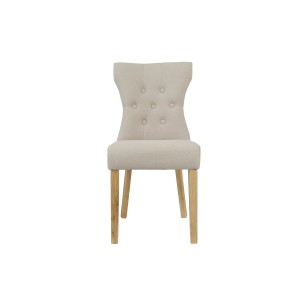 LPD Naples Chair Beige Pack Of Two-