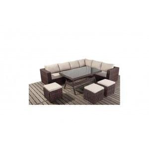 WGF Windsor Corner Sofa and Table Set-