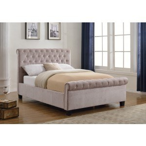 Flair Furnishings Lola Fabric Bed