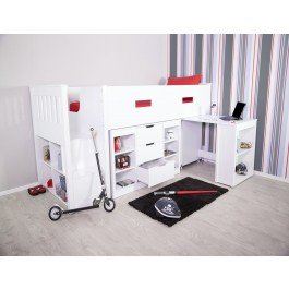 Flair Furnishings Charlie Mid Sleeper Set