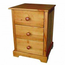 LPD Baltic 3 Drawer Bedside
