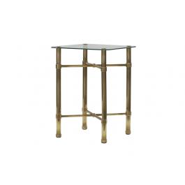 Original Bedstead Company Brass Bedside Table