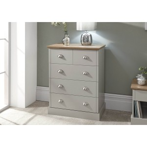 GFW Kendal 2+3 Drawer Chest-
