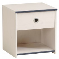 Parisot Smoozy Pink or Blue Bedside Table