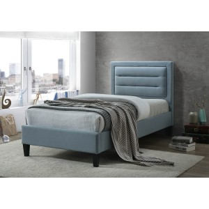 Limelight Picasso Blue Fabric Bed Frame
