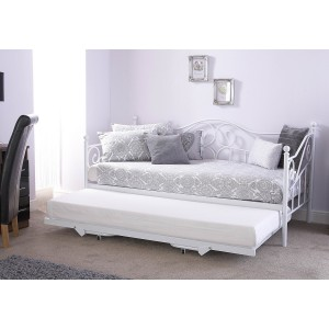 GFW Madison Day Bed With Trundle-