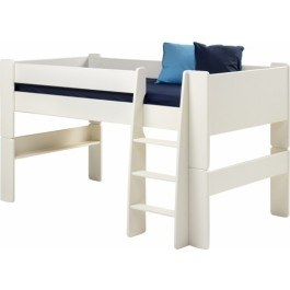 Steens For Kids Mid Sleeper In White