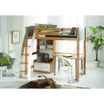 Scallywag Highsleeper with Storage Unit and Desk