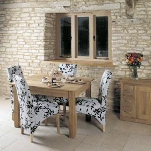 Baumhaus Mobel Oak Dining Table 4 Seate