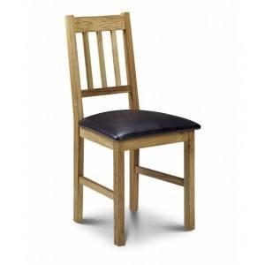 Julian Bowen Coxmoor Oak Dining Chair-
