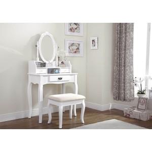 Lumberton Dressing Table Set - White