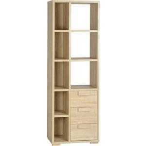 Seconique Cambourne 3 Drawer Display Unit-