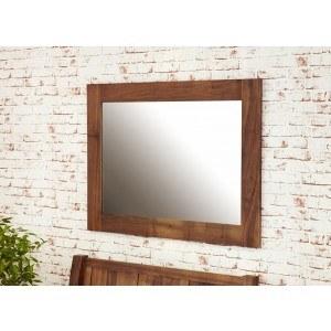 Baumhaus Mayan Walnut Medium Wall Mirror-