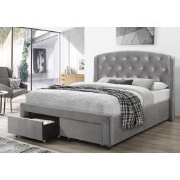 Flair Furnishings Ellen Velvet Drawer Bed Frame -