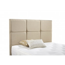 Relyon Contemporary Upholstered Fabric Headboard