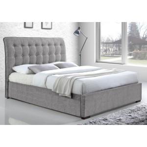 Hamilton Fabric Bed Frame Light Grey