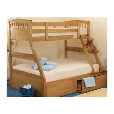 Children S Triple Bunk Beds Bed Kingdom