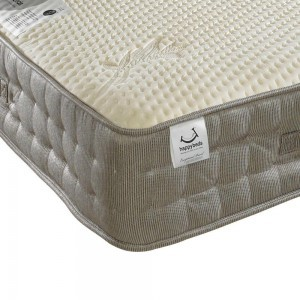 Bed Master Bamboo Vitality Pocket Sprung 2000 Memory Foam Mattress-