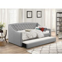 Flair Furnishings Aurora Fabric Daybed With Trundle