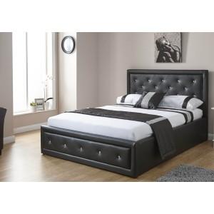 GFW Furniture Hollywood Storage Bed -