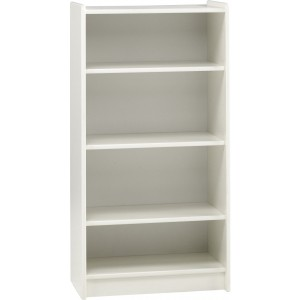 Tall Bookcase White