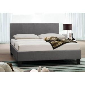 Birlea Berlin Grey Fabric Bed Frame -