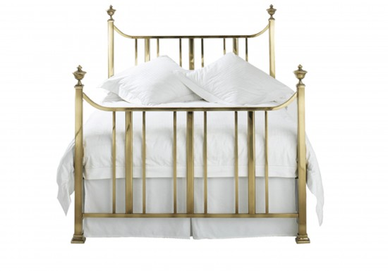 Original Bedstead Company Clifton Brass Bedstead-color Antique Brass