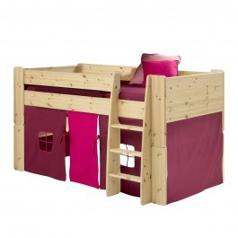 Steens For Kids Mid Sleeper Set In Natural Lacquer