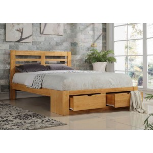 Flintshire Furniture New Bretton Wooden Bed Frame -