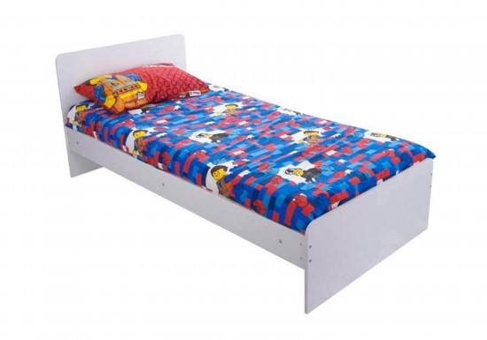 Flair Furnishings Wizard Single Bed Frame -color White