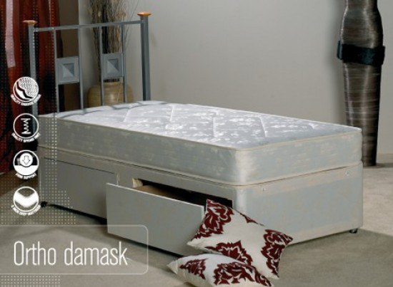 Apollo Orthopaedic Damask Divan-