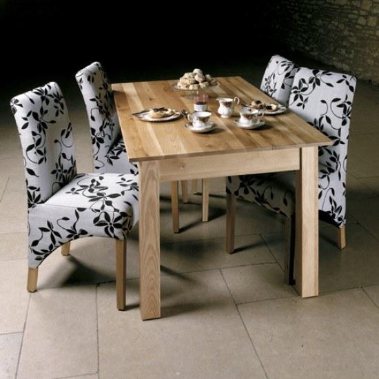 Baumhaus Mobel Oak Dining Table 4/6 Seater-