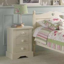 FARGO BEDSIDE WITH 3 DRAWERS