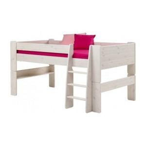 Steens For Kids Midsleeper Whitewash