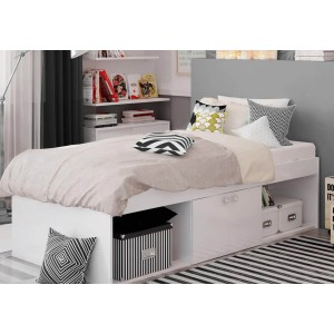 Kidsaw Arctic Low Sleeper Cabin Storage Bed-