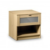 Julian Bowen Strada 1 Drawer Bedside Chest
