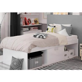 Kidsaw Arctic Low Sleeper Cabin Storage Bed