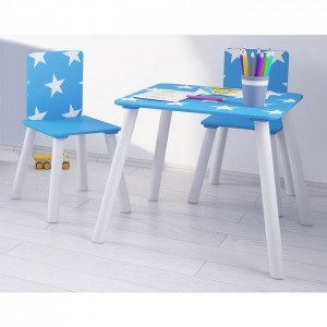 Kidsaw Star Table & Chairs Set-
