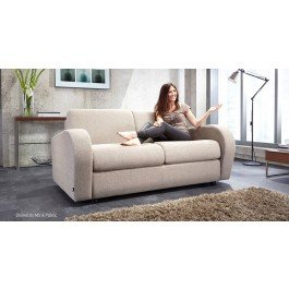Jay-Be Retro Deep Sprung 2 Seater Sofa Bed