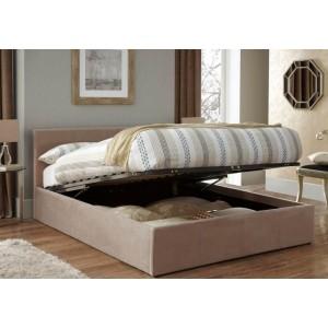 Serene Evelyn Fabric Ottoman Bed Frame-
