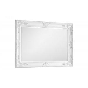 Julian Bowen Palais White Wall Mirror