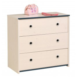 Parisot Smoozy Pink or Blue Chest of Drawers