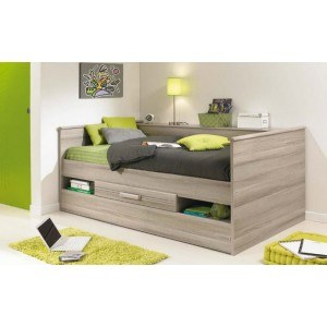Gami Montana Grey Oak Combined Low Bed